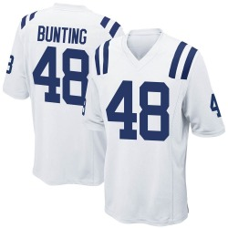 Game Ian Bunting Men's Indianapolis Colts White Jersey - Nike