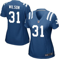 Game Quincy Wilson Women's Indianapolis Colts Royal Blue Team Color Jersey - Nike