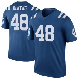 Legend Ian Bunting Youth Indianapolis Colts Royal Color Rush Jersey - Nike