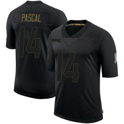 Limited Zach Pascal Youth Indianapolis Colts Black 2020 Salute To Service Jersey - Nike